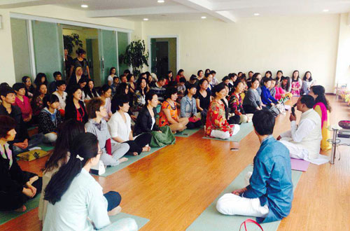 Ayurveda & Yoga Camp in China